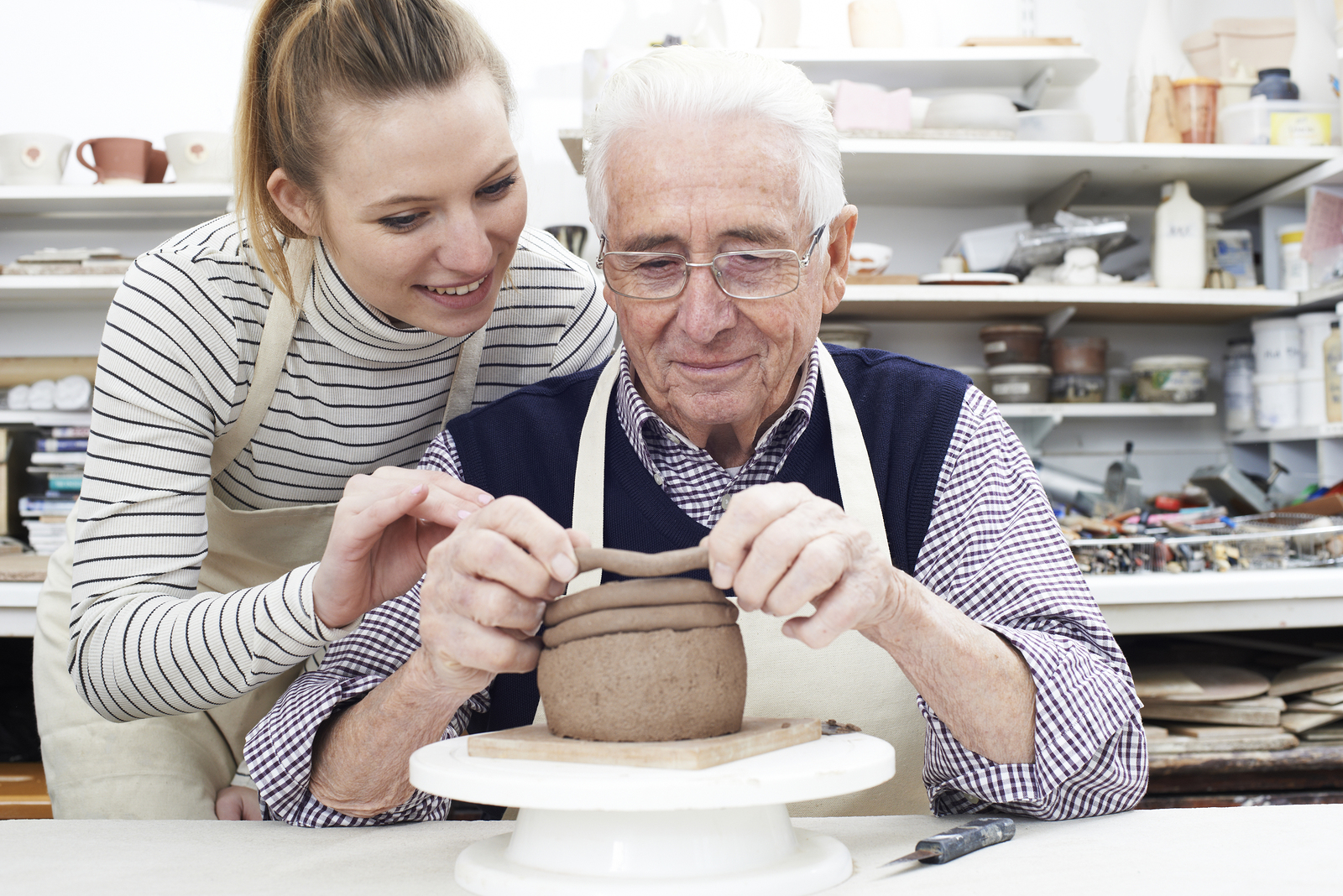 Innovative Therapy For Seniors: Art Therapy