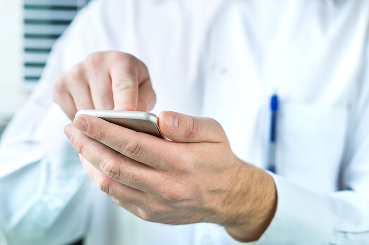 Secure Mobile Text Messaging To Enable Efficient Patient Care
