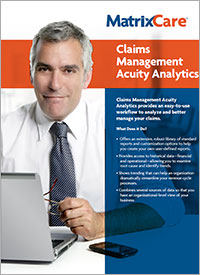 Claims Management Acuity Analytics