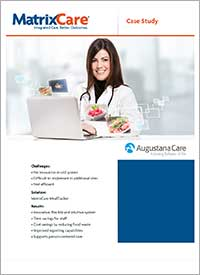 MealTracker Case Study: Augustana Care