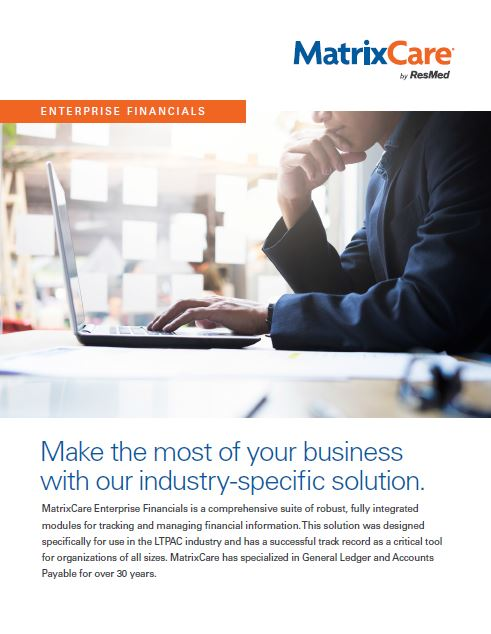 matrixcare-enterprise-financials-brochure