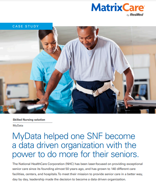 """img src=""""case study.jpg"""" alt=""""MyData helped one SNF become a data driven organization with the power to do more for their seniors"""" title=""""MyData helped one SNF become a data driven organization with the power to do more for their seniors"""""""