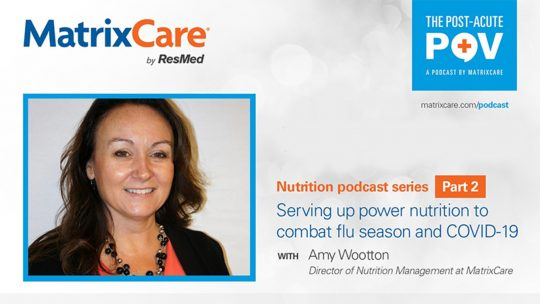 """img src=""""podcast.jpg"""" alt=""""Nutrition series part 2: Serving up power nutrition to combat flu season and COVID-19 with Amy Wootton"""" title=""""Nutrition series part 2: Serving up power nutrition to combat flu season and COVID-19 with Amy Wootton"""""""