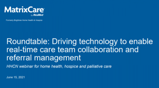 """img src=""""webinar on demand.jpg"""" alt=""""Roundtable: Driving technology to enable real-time care team collaboration and referral management"""" title=""""Roundtable: Driving technology to enable real-time care team collaboration and referral management"""""""
